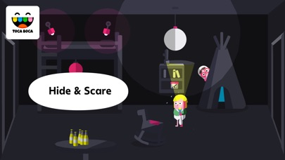 Screenshot for Toca Boo in United States App Store