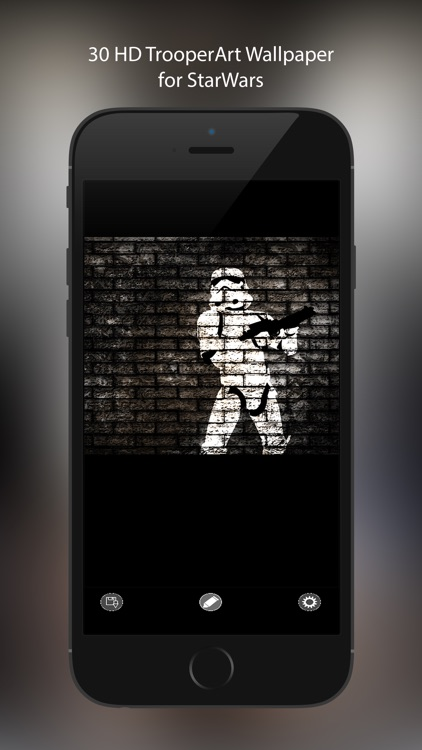 Wallpaper for StarWars: TrooperArt Edition HD