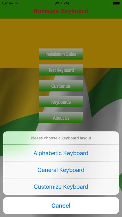Burmese-Keyboard