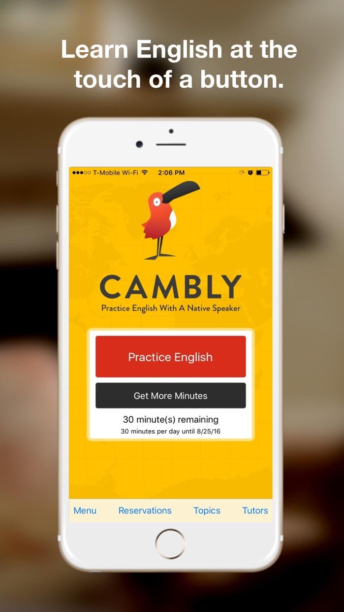 Cambly - English Teacher Screenshot