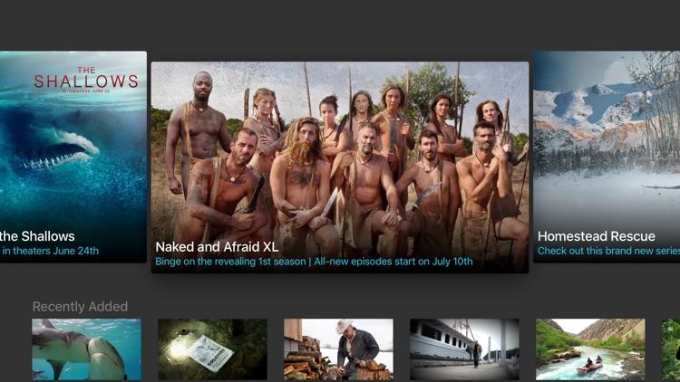 Naked and afraid screenshots girls