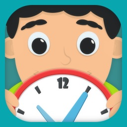 Time Telling Fun for school Kids Free Learning Game free for curious boys and girls to look, interact, listen and learn