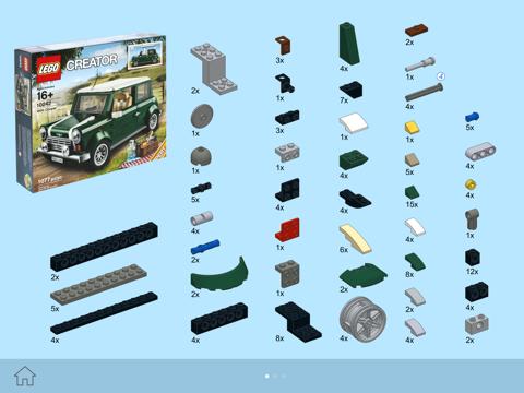 Green Lego Car Instructions