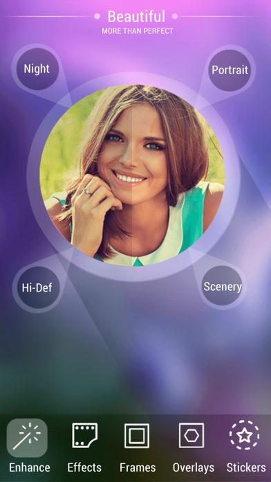 Photo editor pro - Enhance Pic & Selfie Quality, Effects & Overlays screenshot one