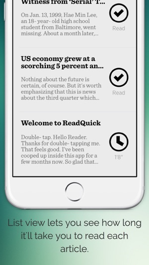 ReadQuick - Speed Reader Screenshot
