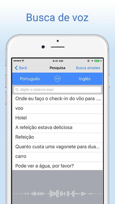 Dicionário Português-Inglês - Tradução screenshot two