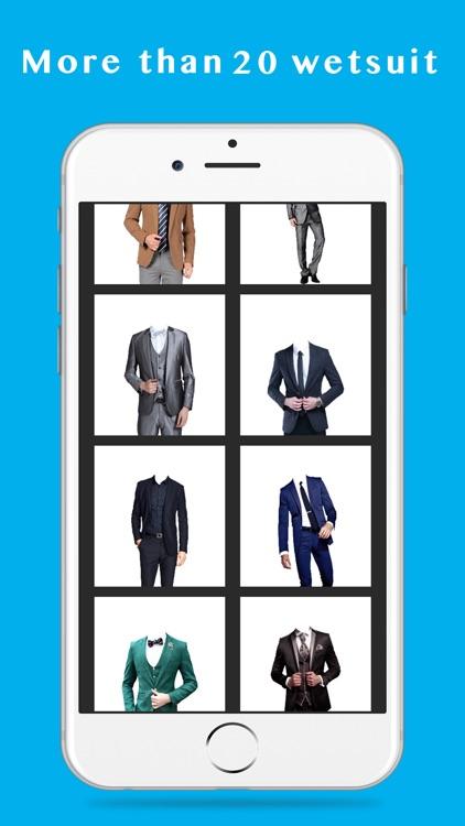 man fashion suit photo montage-Stylish Man Photo Suit screenshot-4