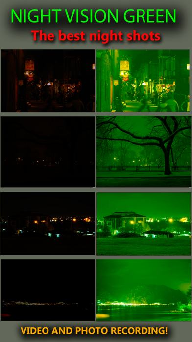Night Vision Real Mode Camera Secret - True Green Light For Photo & Video screenshot one