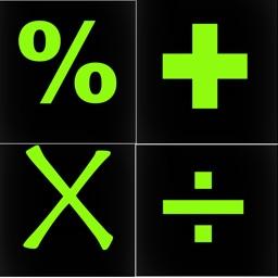 calculator black