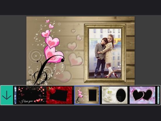 Romantic Love Photo Frame Make Awesome Photo Using Beautiful Photo