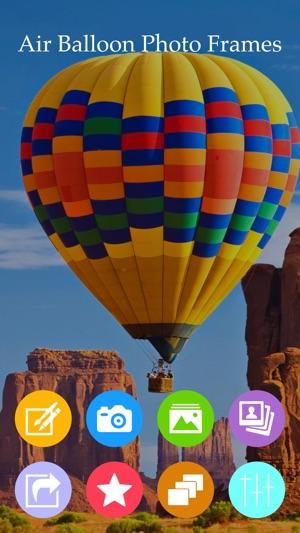 Air Balloon Photo Frames On The App Store
