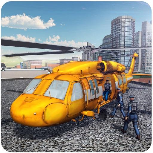 Город Вертолет Simulator - 3D Apache Летающие Моделирование игры