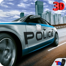 Police Car Driver Simulator - Drive Cops Car, Race, Chase & Arrest Mafia Robbers