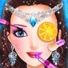 冰雪女王化妆装扮派对沙龙