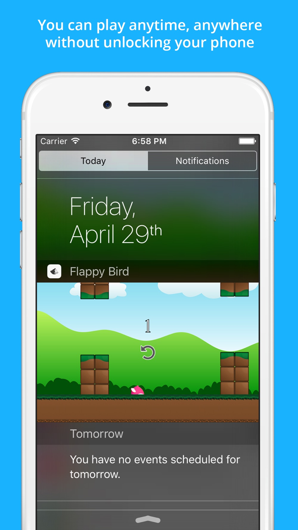 Clumsy Bird - The Trump Jumping And Switch Color Notification Widget Game hack tool