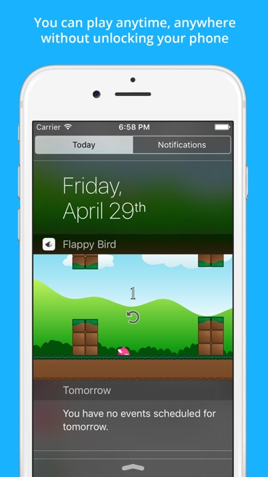 Clumsy Bird - The Trump Jumping And Switch Color Notification Widget Gameのおすすめ画像2