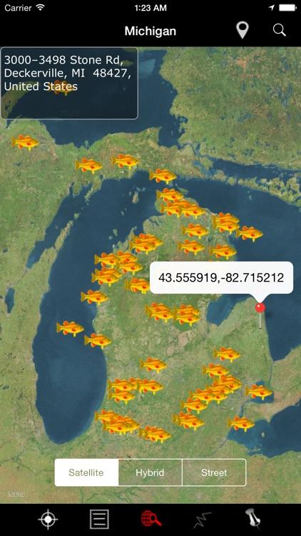 Michigan: Lakes and Fishes screenshot-3