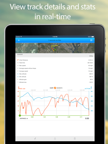 Track Kit - GPS Tracker with offline maps-ipad-2