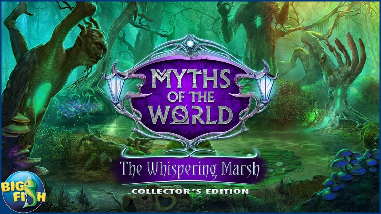 Myths of the World: The Whispering Marsh - A Mystery Hidden Object Game (Full) screenshot-4