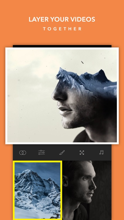 Video BlendEr -Free Double ExpoSure EditOr SuperImpose Live EffectS and OverLap MovieS screenshot-0