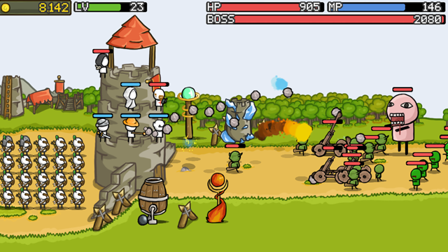 Grow Castle! Screenshot