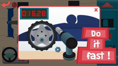 点击获取Kids RC Toy car mechanics Game for curious boys and girls to look, interact, listen and learn