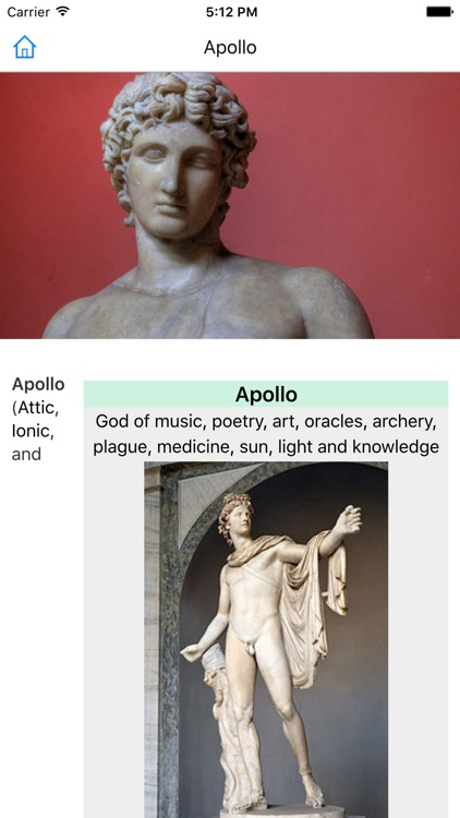 CHI Encyclopedia of Greek Mythology screenshot-3