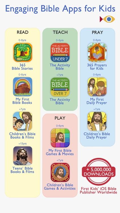 Children's Bible Books & Movies   Family & School screenshot-4