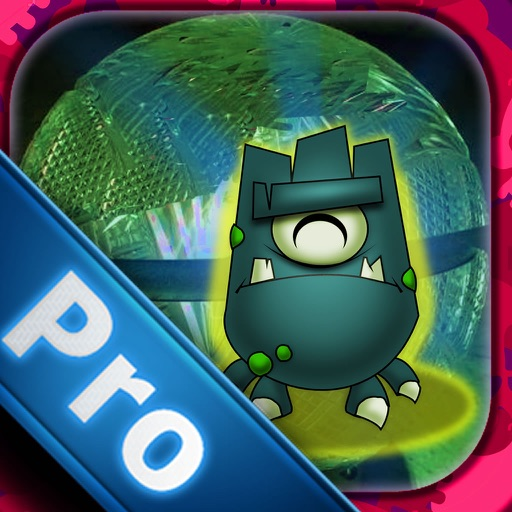 A Monstrous Ball In Space PRO - Geometria Super Cool Game