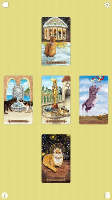 Mystical Cats Tarot-4