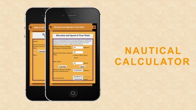 Nautical Calculator for mariners screenshot-3