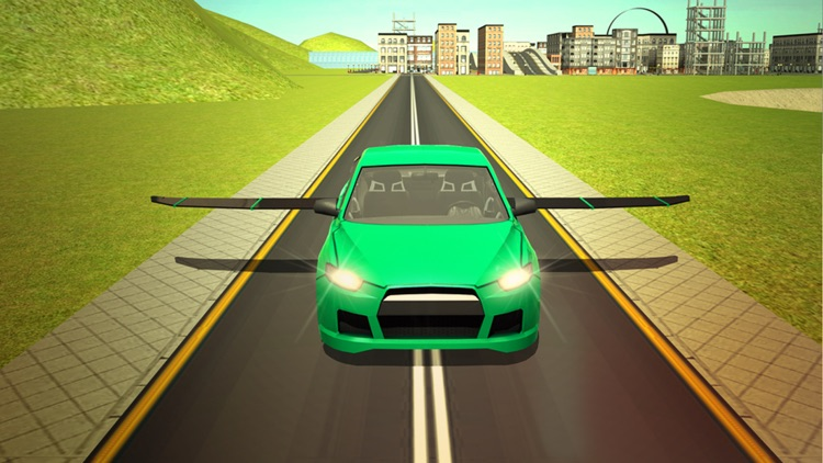 Flying Racing Fever N Furious Car Stunt screenshot-3