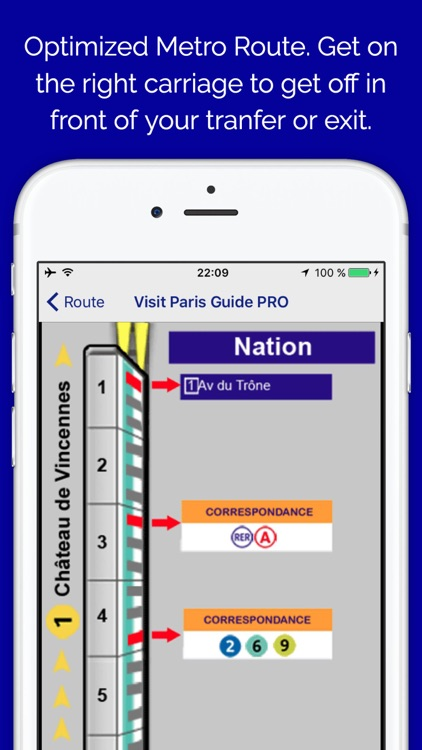 Visit Paris Guide Pro - transport, hotel, deals screenshot-2