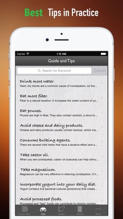 How To Treat Constipation:Natural Remedies,Diet Guide and Health Tips screenshot-3