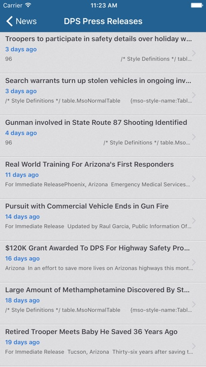 Arizona DPS Mobile screenshot-4