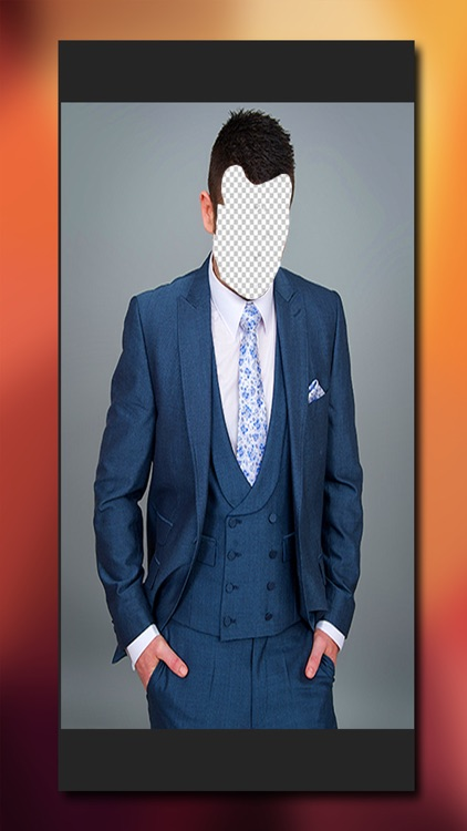 Man Suit Photo Editor - Head in Hole Picture Maker For Stylish Boys & Men