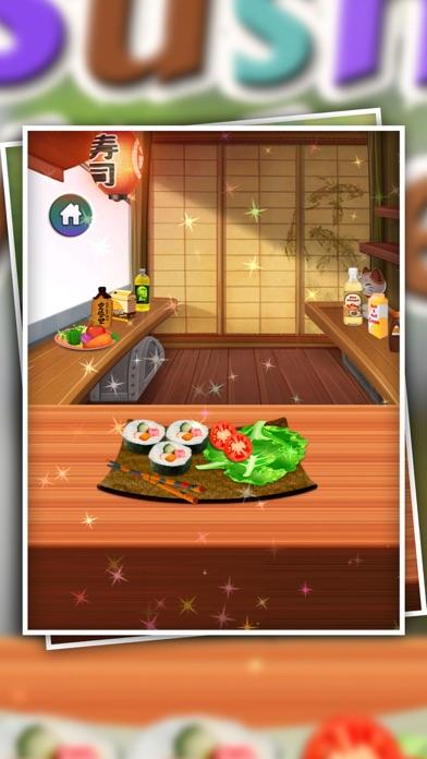 Wie man Sushi-Maker - Sushi machen Spiel - Spiel für cookingsScreenshot von 1