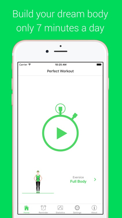 7 Minutes Workout - Your Daily Personal Fitness Trainer screenshot-1