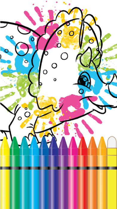 Jurassic Coloring Book World Fifth Edition screenshot two