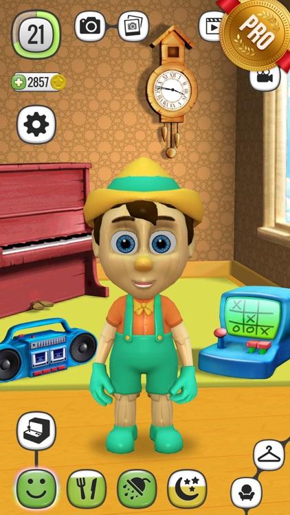 ! My Talking Pinocchio PRO - Virtual Toy screenshot-3