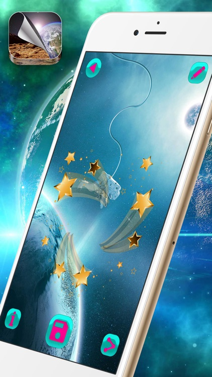 Cool Galaxy Wallpaper Free – Outer Space Themes with Stars and Planets Background.s
