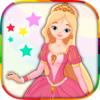 Pintar e colorir princesas - desenhos de princesa com pincel mágico