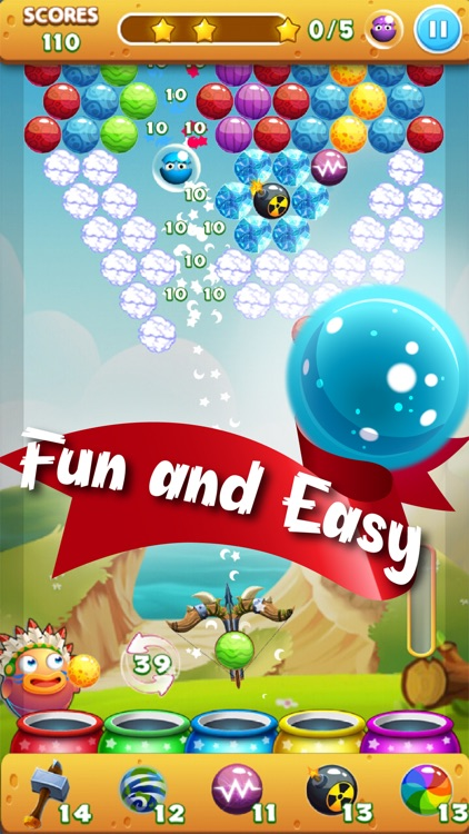 Bubble Mania Pop Dragon Shooter: Newest World Bubble Shooter HD 2016 - Match 3 Puzzle Classic - Totally Addictive & Free screenshot-3