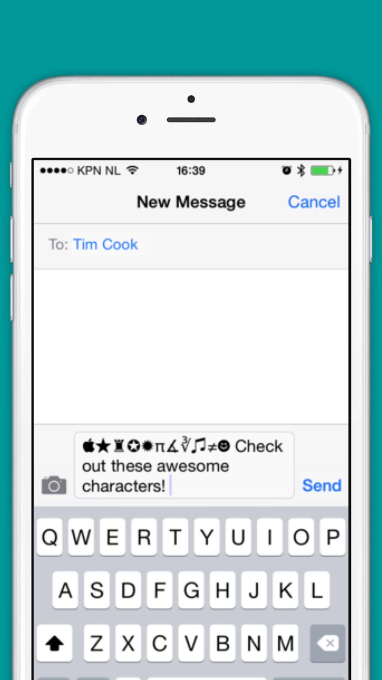Characters and Symbols LITE Screenshot