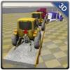 拖拉机转运卡车 - 驾驶大型货车和运输农用车