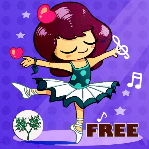 Ballet Dancer Ballerina- Princesses Game for Kids and Girls with Classical Music