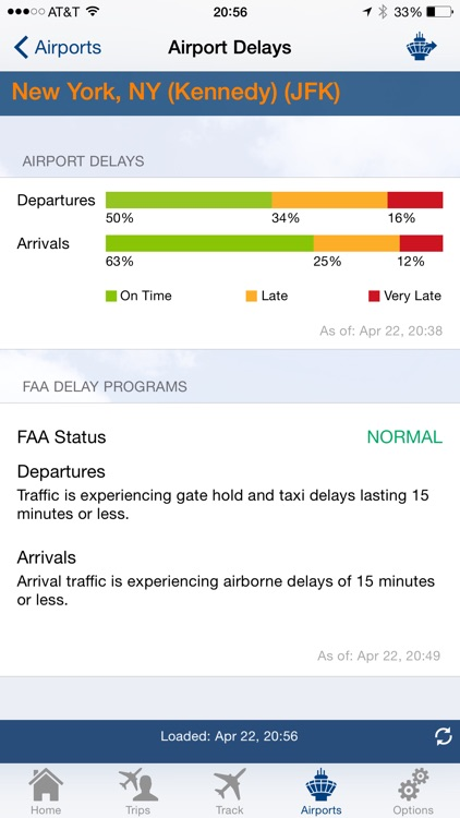 FlightView - Real-Time Flight Tracker and Airport Delay Status screenshot-4