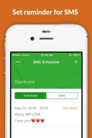 SMS Scheduler - Auto Reminder - náhled
