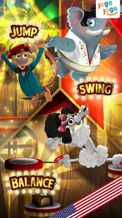 Jogo Circus Animals - Finishing your plate of food is fun! screenshot-0