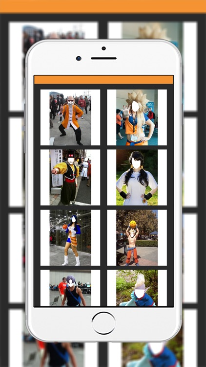 Super Saiyan Costplay Maker- New Photo Montage With Own Photo Or Camera screenshot-2